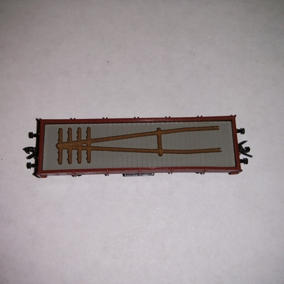 40 Z scale european A style telegraph/telephone poles