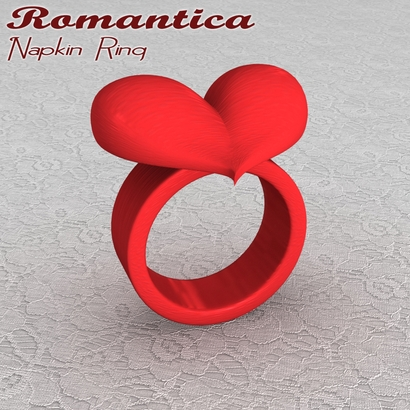 Romantica Napkin Ring