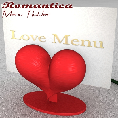 Romantica Menu Holder