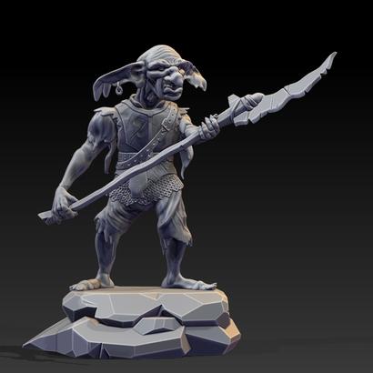 Goblin Statue- 120mm.