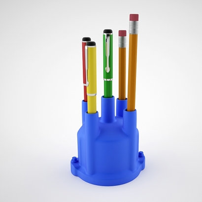 Pen holder distributor