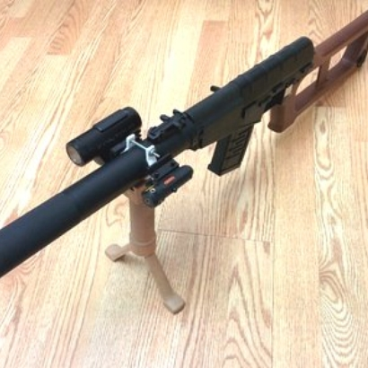 VSS Barrel Picatinny Rails
