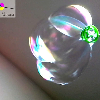 Hexa-Tube for soap bubbles