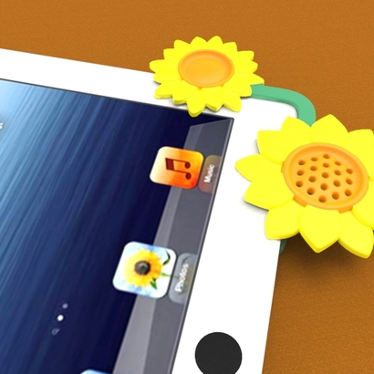 iPad3 Sound Projector - Sun Flowers