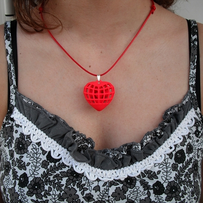 "Pendant ""Hearts in Heart"""