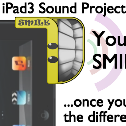 iPad3 Sound Projector - Smiley