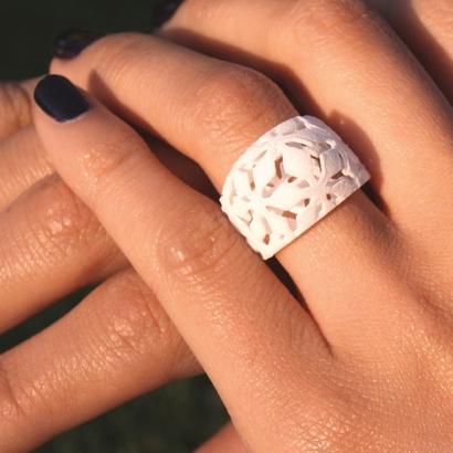 Snowflake Ring Size 7