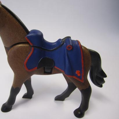 Selle Schabraque de drap 1er empire 2éme génération de chevaux