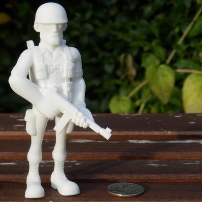 Paratrooper Figure