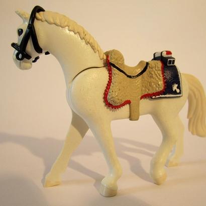 Selle Empire pour cuirassier Playmobil