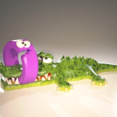 "Crocodile ""CROQUE O"""