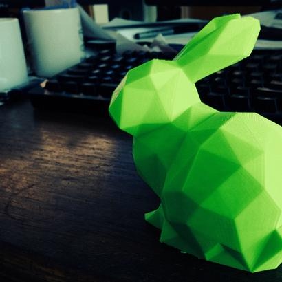 Lapin miniature origami