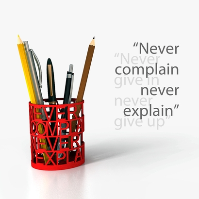 Quote Pen Holder 01