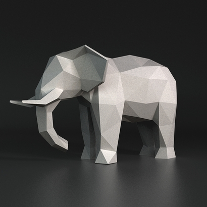 Elephant Faceted