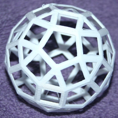 Hollow Rhombicosidodecahedron