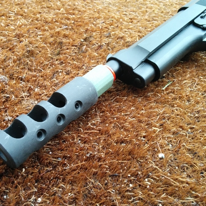 AR15 Muzzle to Airsoft Barrel Adapter