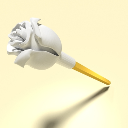 Rose (Pen Cap)
