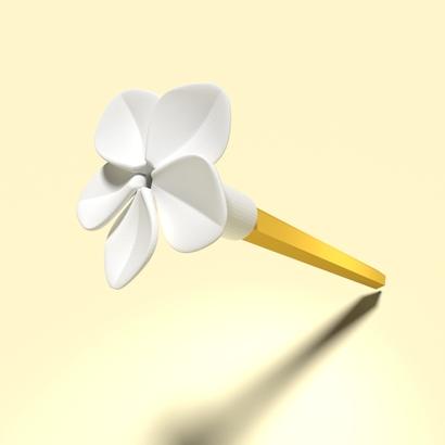 Plumeria (Pen Cap)