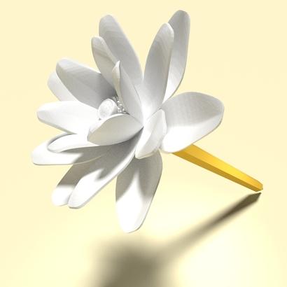 Lotus (Pen Cap)