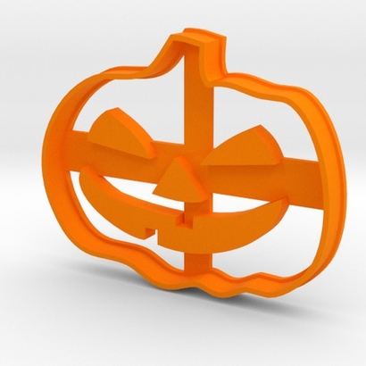 Pumpkin Halloween Cookie Cutter