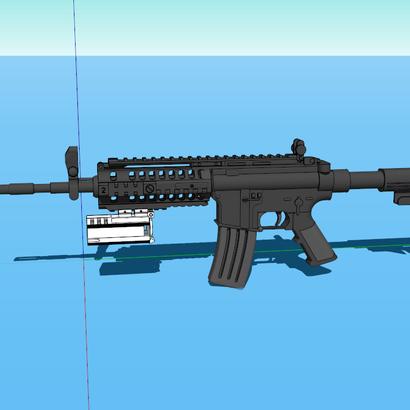 Helio M7203 Underbarrel Grenade Launcher (Full Length)