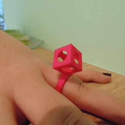 Bague Cube T54