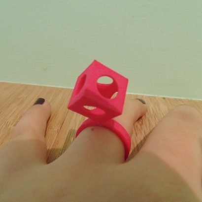 Bague Cube T56
