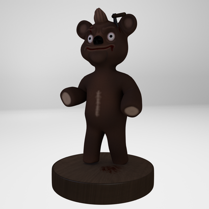 Horror Toy Bear