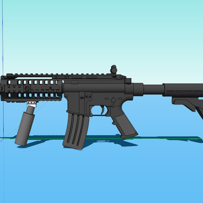 Grenade Canister Foregrip
