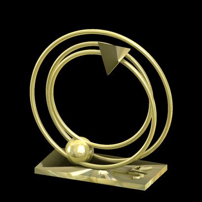 phaeton sculpture  1/4 de JR