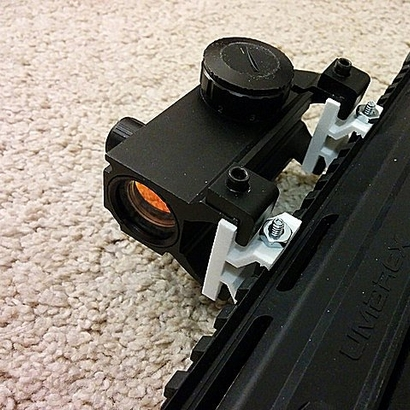 Mount MP5 Scope to Picatinny Rail Adapter
