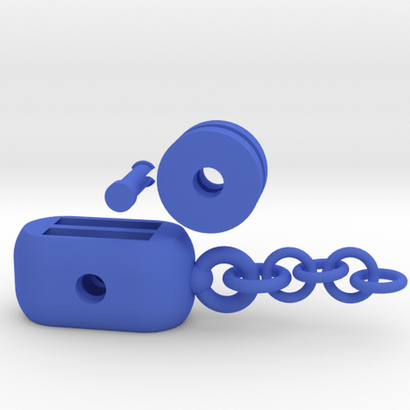 Hoist Pulley Keychains (assembling)