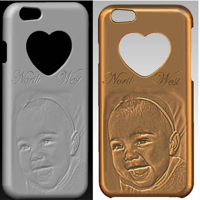 IPhone 06 case - North West Baby