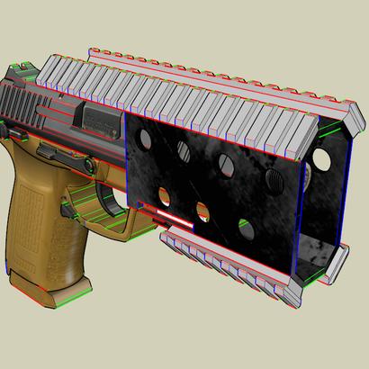 Vik Pistol Quad Rail