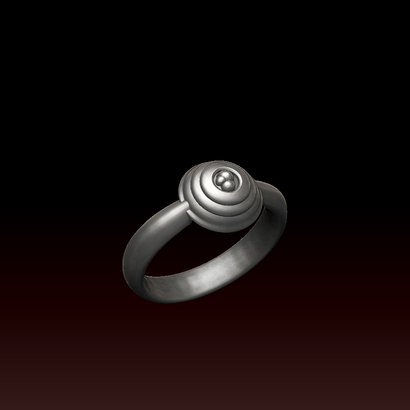 Bague Puissance III (taille fr 16.5 us 6)
