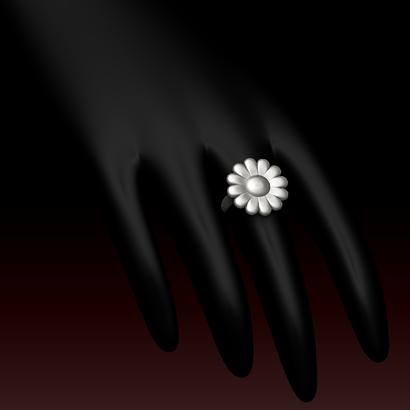 Bague Fleur (taille fr 56.9 us 8)
