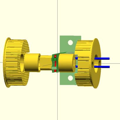 Lock adapter TESA (Spain) complete package