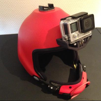 Gopro 3+/4/5/6 mount skydive helmet