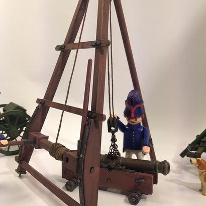 Chévre d'artillerie Gribeauval Playmobil