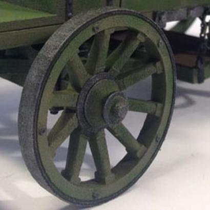 Wagon Little wheel Playmobil - Diam 4,5cm