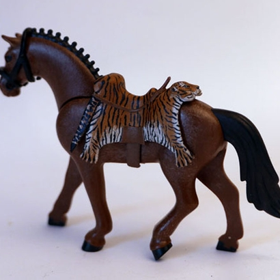 Saddle Tiger 3rd Playmobil generation Horse