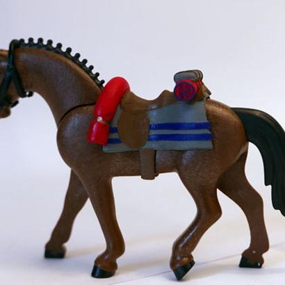 British Scots Greys Saddle for Playmobil