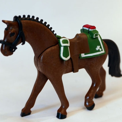 French Saddle for 1er Empire Dragon - Playmobil