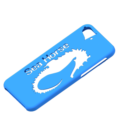"iphone 6 ""S""  (or iphone 6 )sea horse"