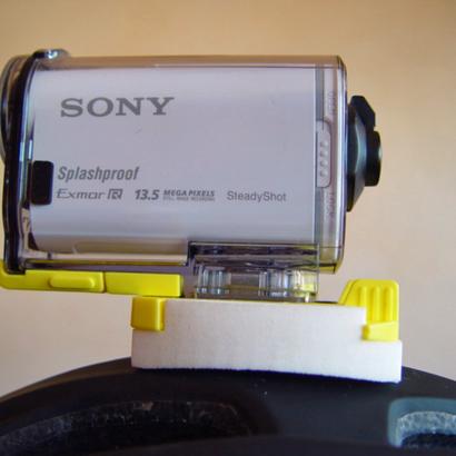 Helmhalterung für Kamera