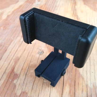 Mobile Phone Tripod Adapter Picatinny Mount