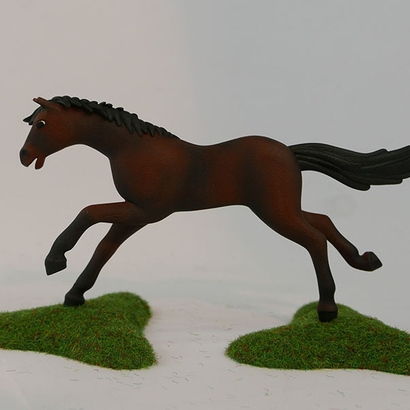 PLaymobil running horse pose1_ergo