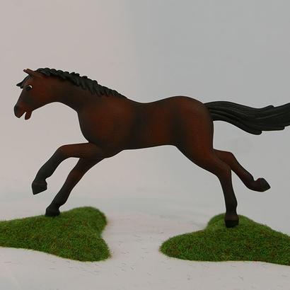 Playmobil cheval au galop pose 1