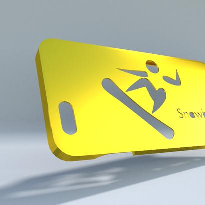 Iphone 6 snowboard
