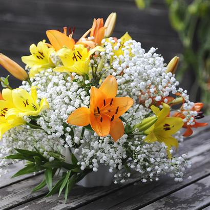 Palmiga Globe Bouquet Vase